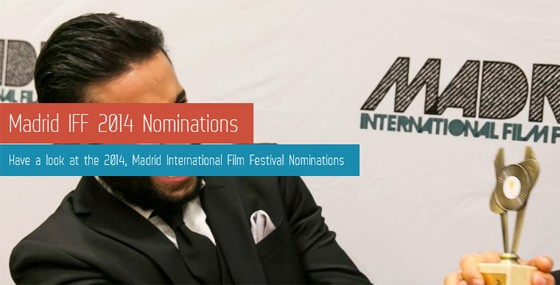 Paul Alexandro nominated for Best Actor in Madrid